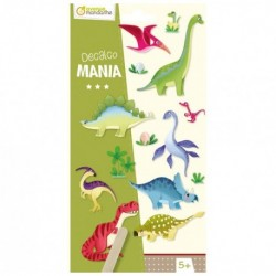 Decalco' Mania. Dinosaures