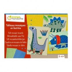 Boîte Créative - Tableaux Mosaïques En Feutrine