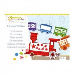 Boîte Créative - Educativ' Stickers - Tri De Couleur