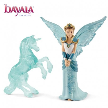 Bayala - Movie - Eyela Avec Sculpture Licorne De Glace
