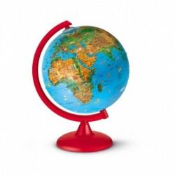 Globe terrestre illustré - Animaux - 25cm