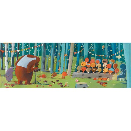 Puzzles Gallery : forest friends