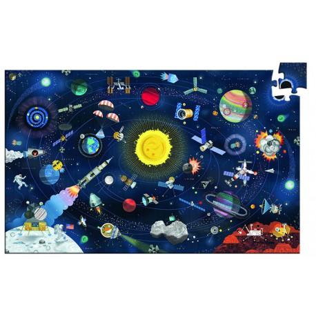 Puzzle observation : l'espace