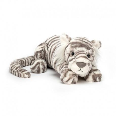 Peluche Sacha Snow Tiger Really Big