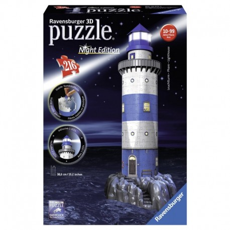 Puzzle 3D Night Edition - Phare