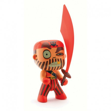 Arty Toys pirates : Captain red