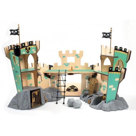 Arty Toys chevaliers : castle on ze rock
