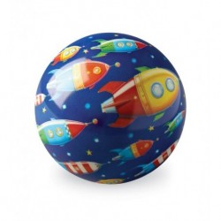 Balle en plastique 10cm - Space Race