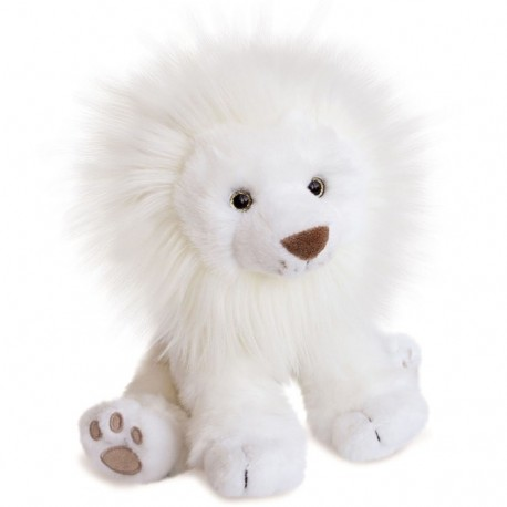 Lion Des Neiges 65 Cm