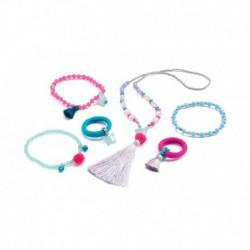 Imitation coquetteries : bijoux pompons et papillons