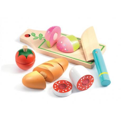 Imitation gourmandises : lunch à couper