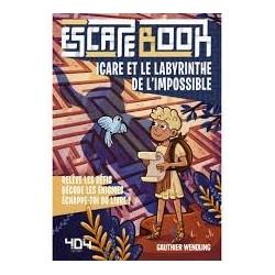 Escape Book Enfant - Icare Et Le Labyrinthe
