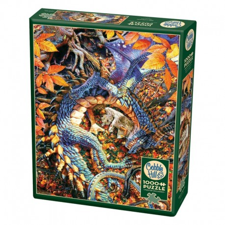 Puzzle 1000 pcs - Abby's dragon