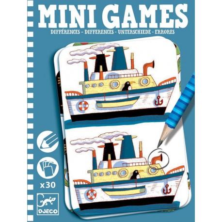 Mini Games : les différences de Rémi