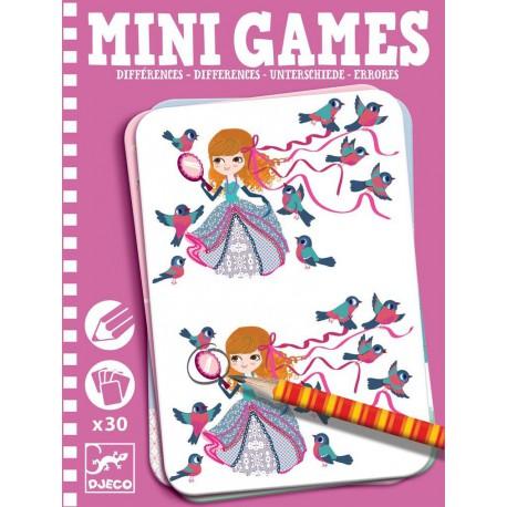 Mini Games : les différences de Léa