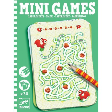 Mini Games : les labyrinthes d'Ariane