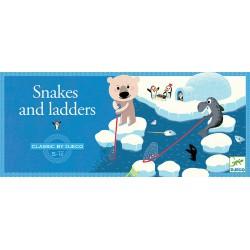 Jeu classique : échelles et serpents