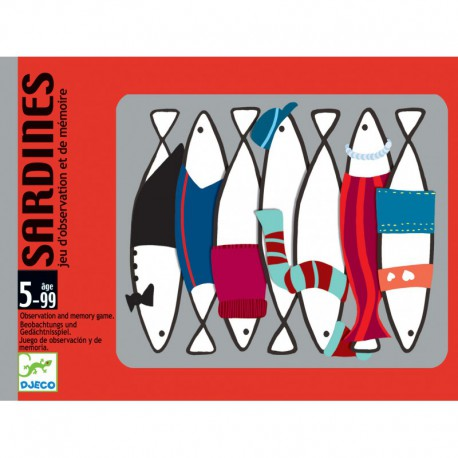 Jeu de cartes : sardines