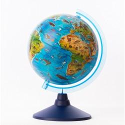 Globe lumineux animaux