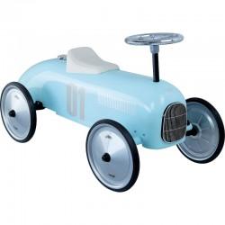 Porteur Vintage bleu tendre