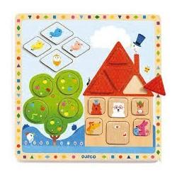 Puzzles éducatif bois - Ludigeo