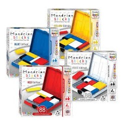 Ah!Ha Mondrian Blocks - Blue Edition