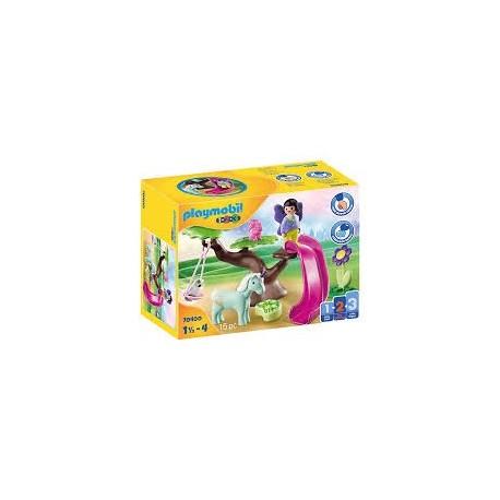 Playmobil 1.2.3 - Aire De Jeux Des Fées