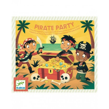 Fête d'anniversaire : pirate party