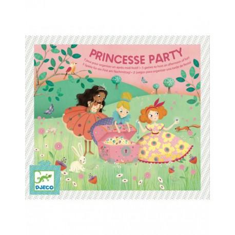Fête d'anniversaire : princesse party