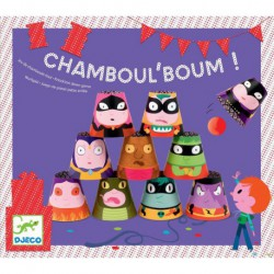 Fête d'anniversaire : chamboul'boum