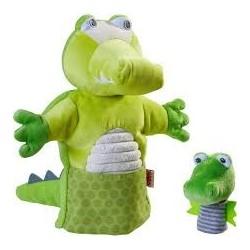 Marionette Crocodilet Son Bébé