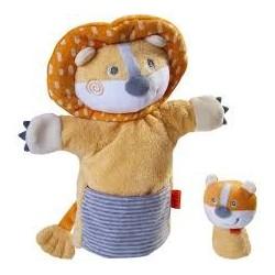 Marionette Lion Et Son Bébé