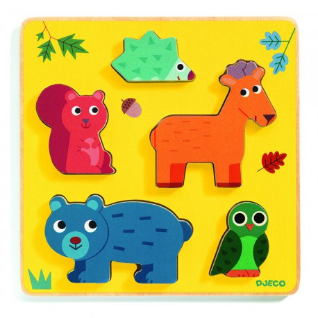 Puzzle relief : frimours