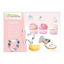 Boîte créative - Sablés et cupcakes chats
