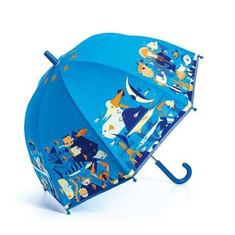 Parapluie : monde marin