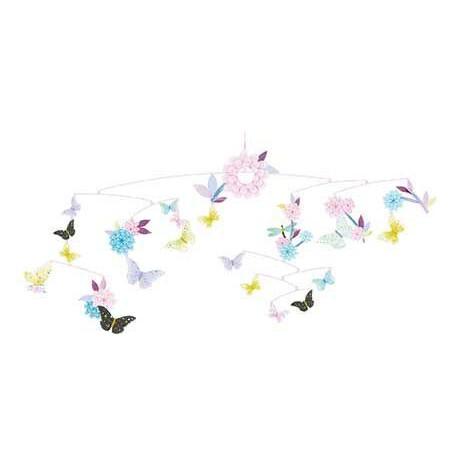 Mobile papier : ronde des papillons