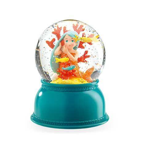 Veilleuse boule de neige : sirène