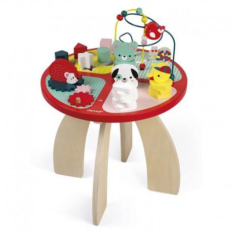 Table d'activités : baby forest