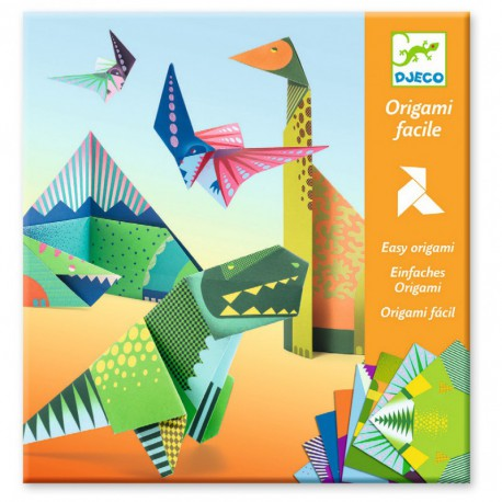 Origami : dinosaures