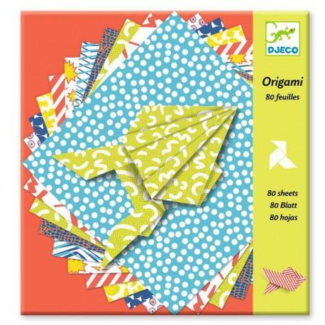 Origami : comics (80 feuilles)