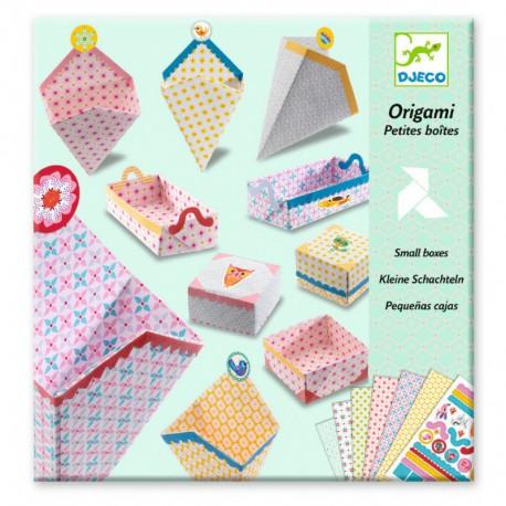 Origami : petites boîtes