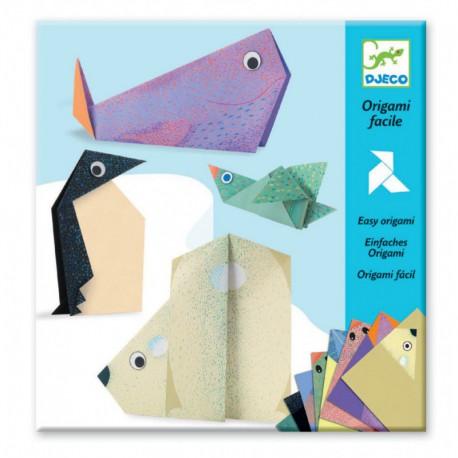 Origami : les animaux polaires