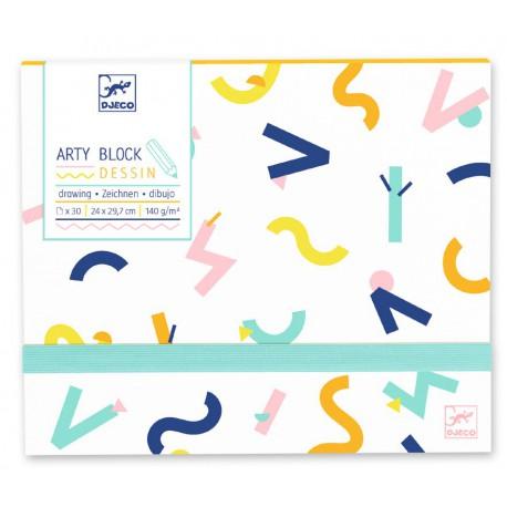 Arty block : dessin