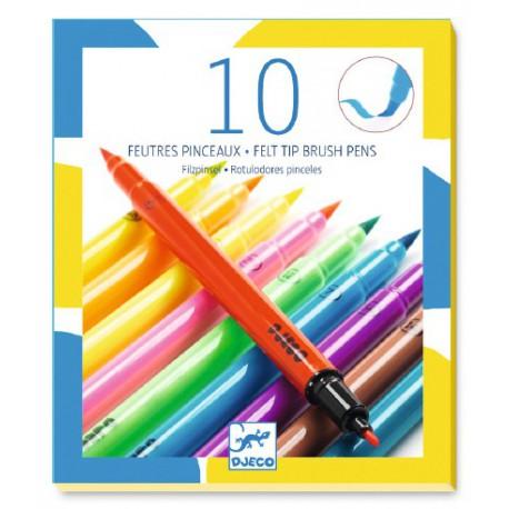 10 feutres pinceaux : pop