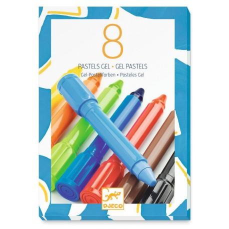 8 pastels gel : classique