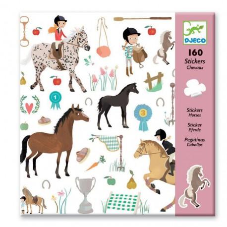 Stickers : les chevaux