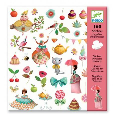 Stickers : le goûter des princesses