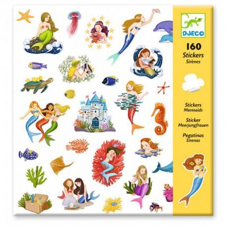 Stickers : sirènes
