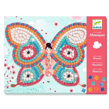 Mosaïques : papillons