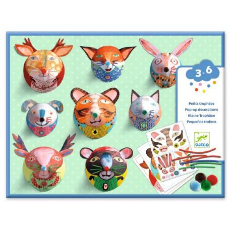 Paper toys des petits : galerie de portraits